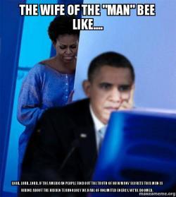 Redditor Obama's Wife meme