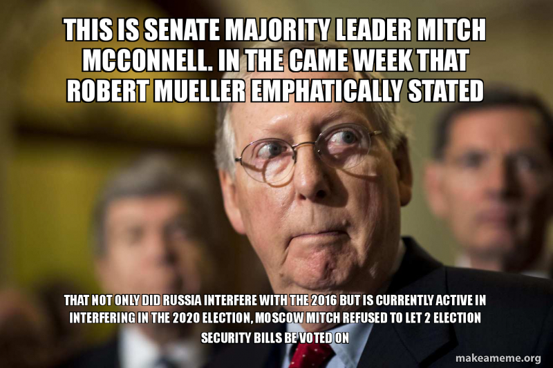 Image result for memes on MITCH MCCONNELL