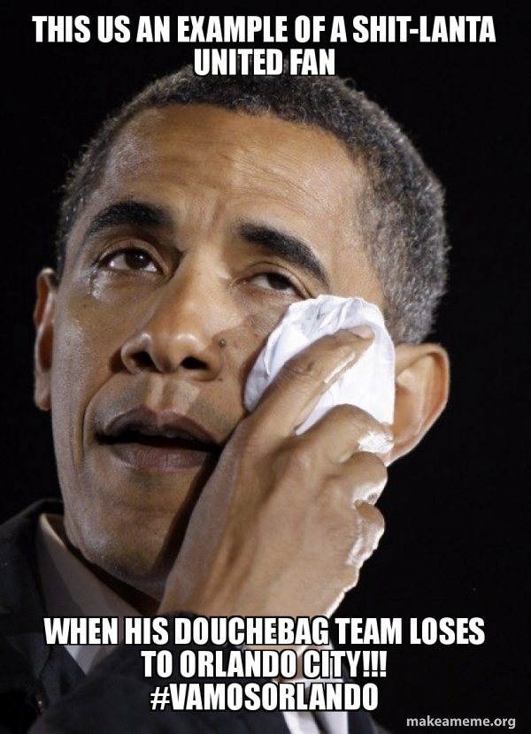 Crying Obama meme