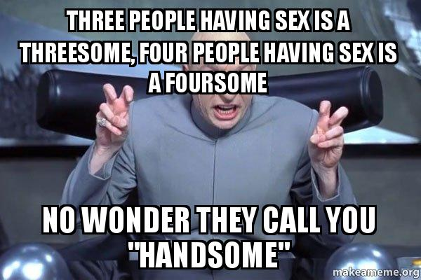 Three people having sex