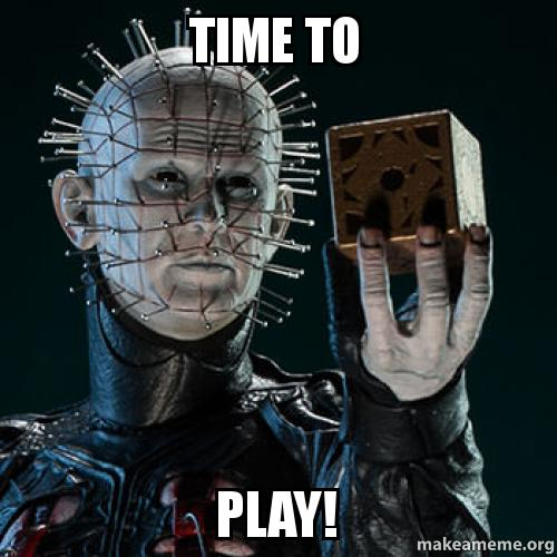 Time To Play Make A Meme