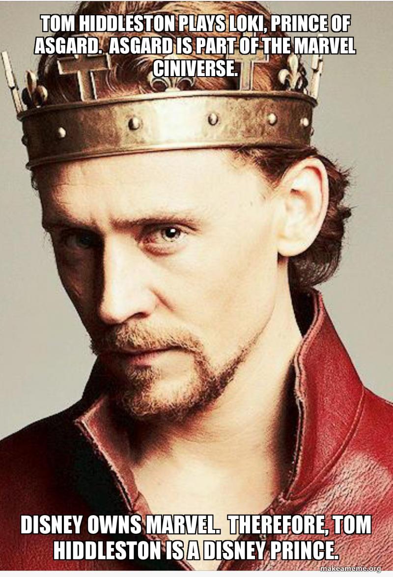 Tom Hiddleston plays Loki, Prince of Asgard  Asgard is part