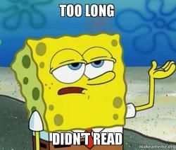 """Résultat de recherche d'images pour """"too long didn't read"""""""