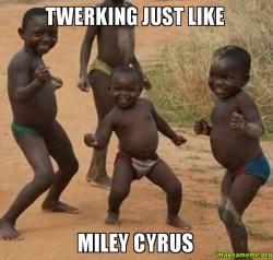 kids twirking