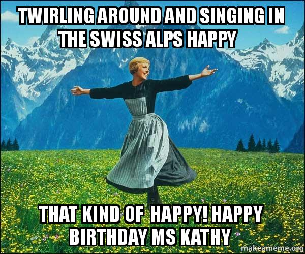 Twirling Around And Singing In The Swiss Alps Happy That Kind Of