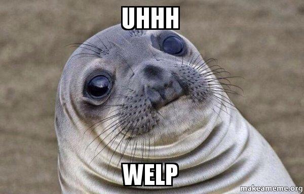 Znalezione obrazy dla zapytania welp seal