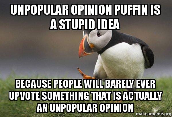Funny Unpopular