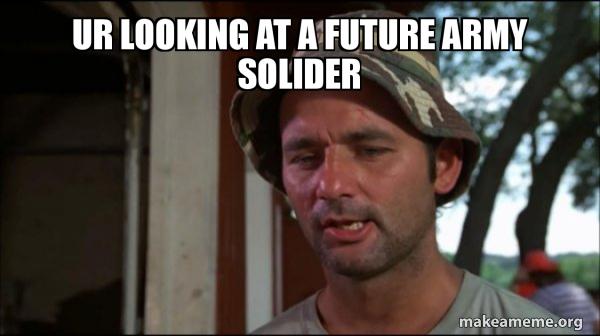 Bill Murry Caddyshack (So I got that going for me) meme