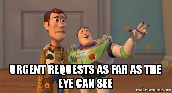 ... far as the eye can see - Buzz and Woody (Toy Story) Meme | Make a Meme