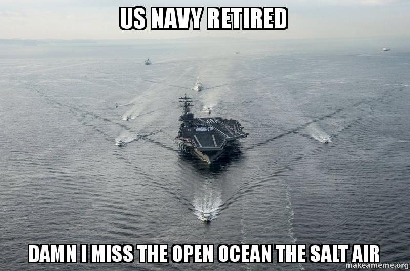 Open Ocean US Navy Meme
