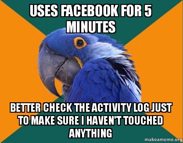 how to see login activity in facebook