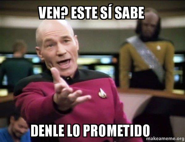 ven este: