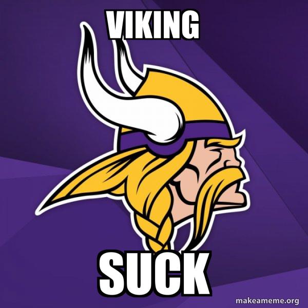 Minnesota Vikings meme