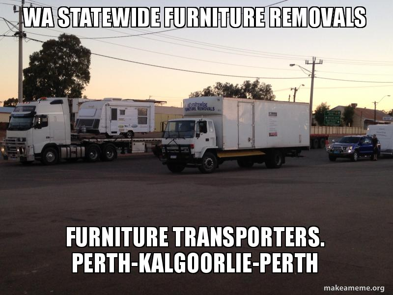 Superb WA Statewide Furniture Removals