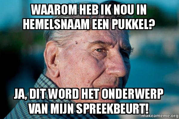 van mijn spreekbeurt!  Marriage Advice Grandad | Make a Meme