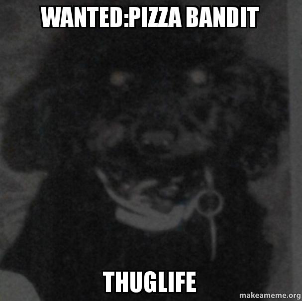 Wantedpizza Bandit Thuglife Make A Meme