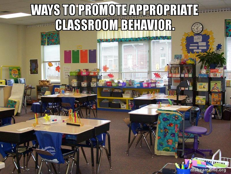 appropriate classroom behavior Appropriate social behavior: teaching expectations to young children   of appropriate behaviors that you want to see from children expectations should address the  classroom routines it may be appropriate in early childhood settings to define these expectations.