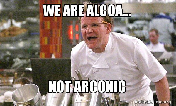 We are Alcoa    NOT ARCONIC - Gordon Ramsay Hell's Kitchen