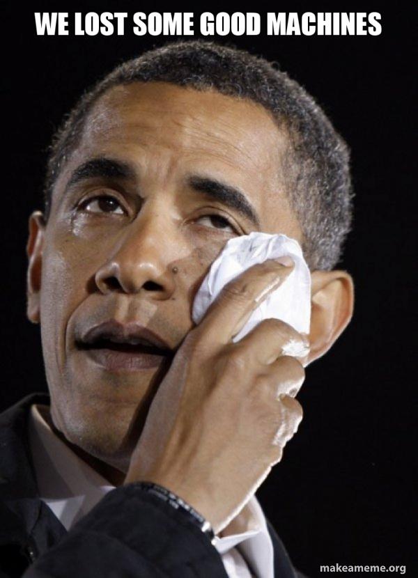 Crying Obama meme