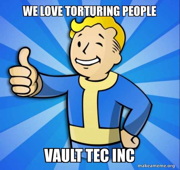 Vault Boy Fallout 4 game meme