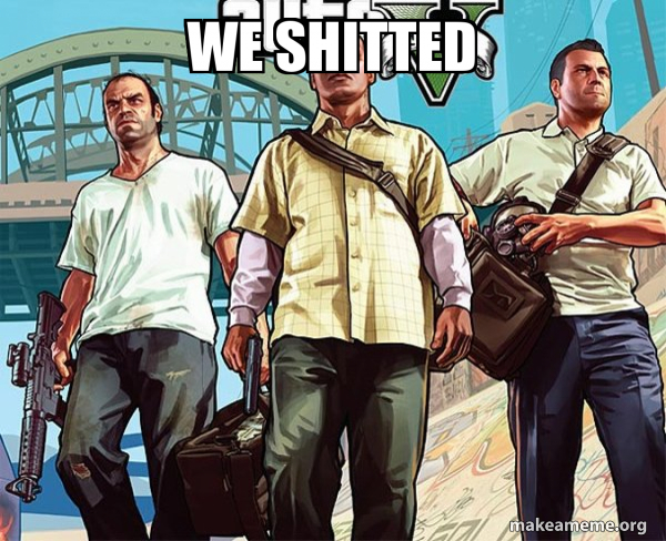 Grand Theft Auto 5 (V) meme