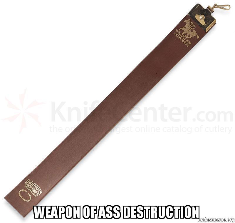 Weapon Ass Destruction 43