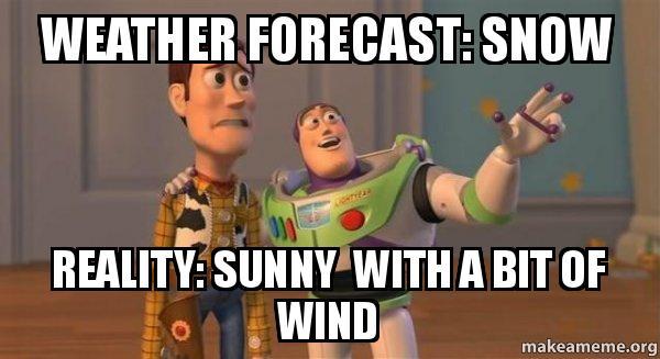 weather forecast snow nhehkh weather forecast snow reality sunny with a bit of wind buzz