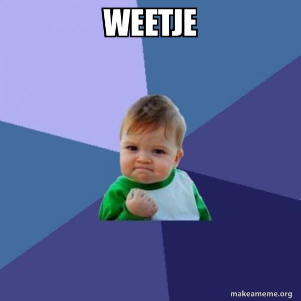 Success Kid meme