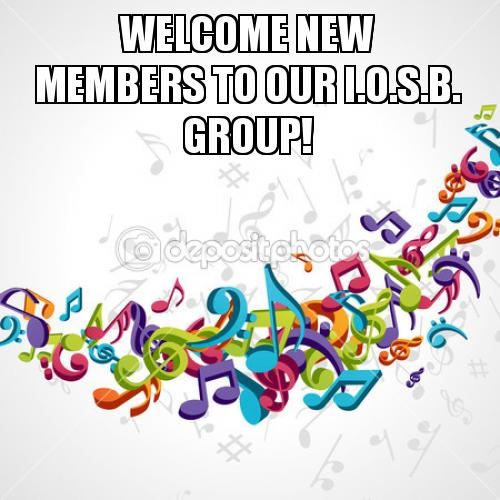 WELCOME NEW MEMBERS TO OUR I O S B  GROUP! | Make a Meme