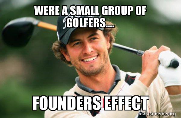 Adam Scott Golfer meme