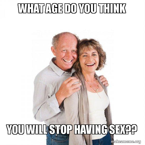what age to stop having sex