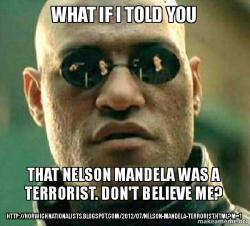 What If I Told You That Nelson Mandela Was A Terrorist