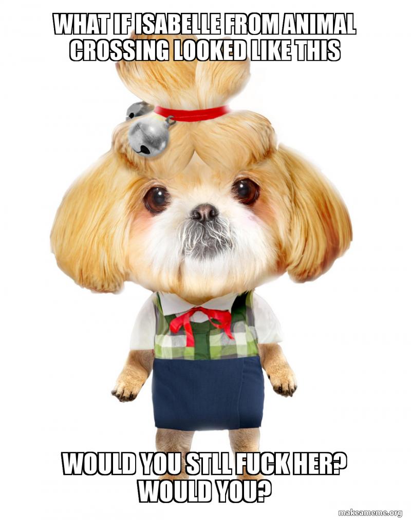 Isabelle Meme Animal Crossing - Aviana Gilmore
