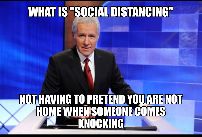 Image result for social distancing memes