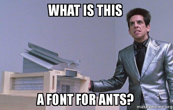 Center for Ants (Zoolander) meme