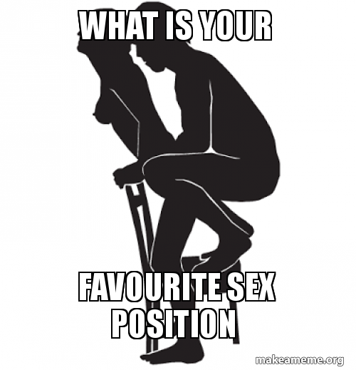 What is your favorite sex position