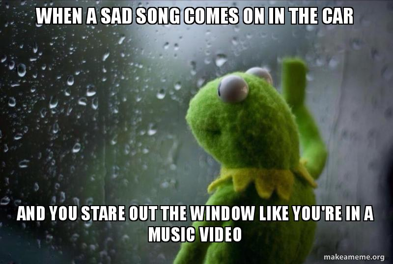 Sad Music Video Meme