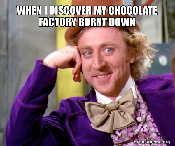 Willy Wonka Sarcasm Meme meme