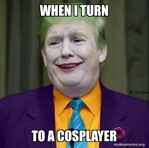 Donald Trump - The Joker meme