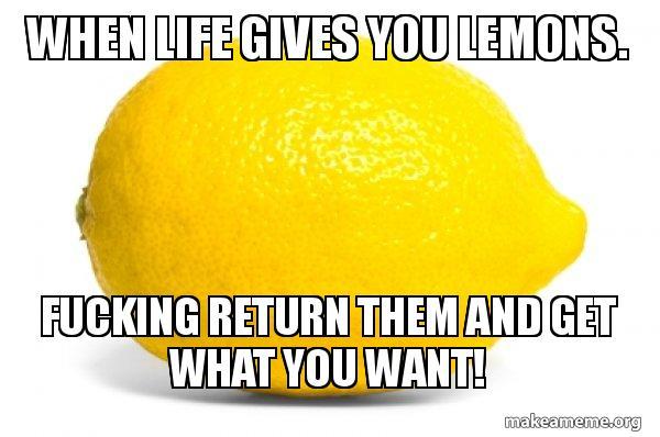 Lemon meme