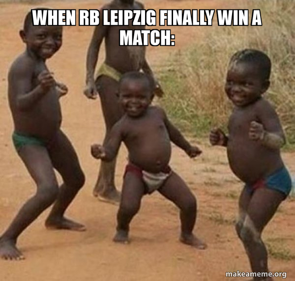 When Rb Leipzig Finally Win A Match Dancing Black Kids Make A Meme