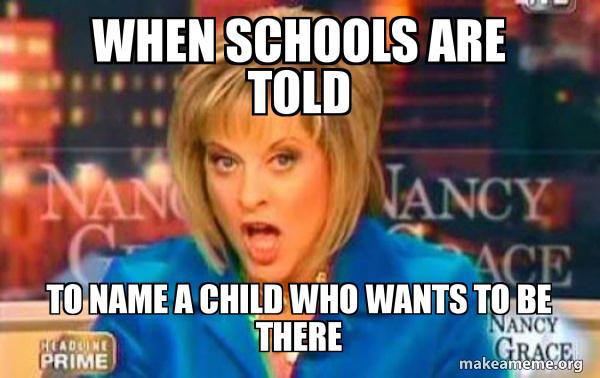 False Fact Nancy Grace meme