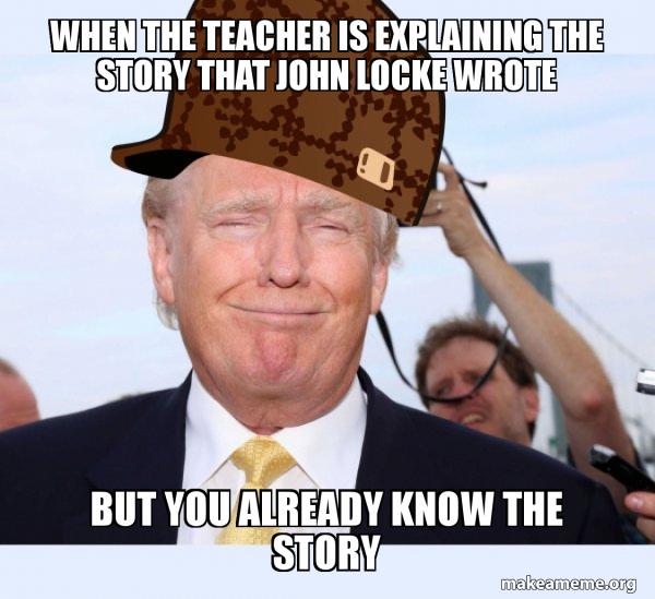 Scumbag Donald Trump meme