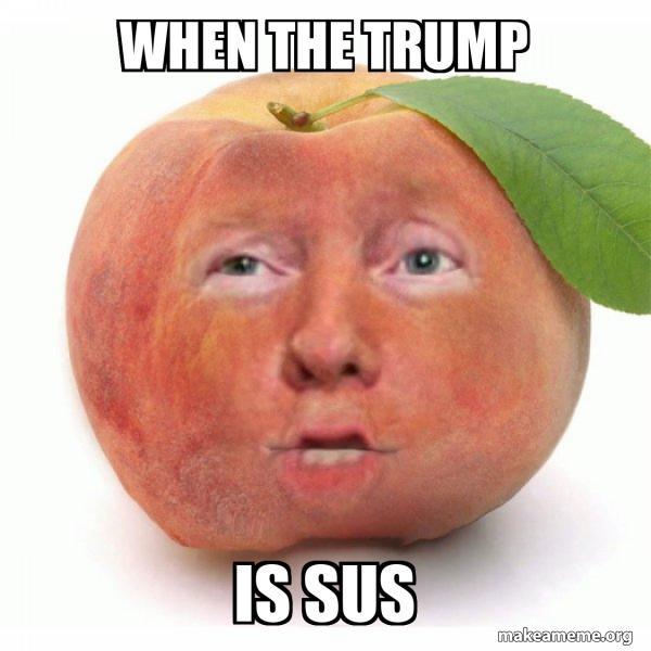 Impeached Donald Trump meme