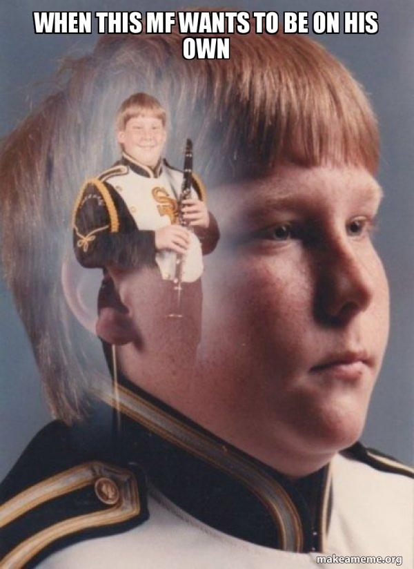 PTSD Clarinet Boy meme