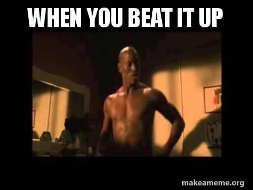 Beat it up