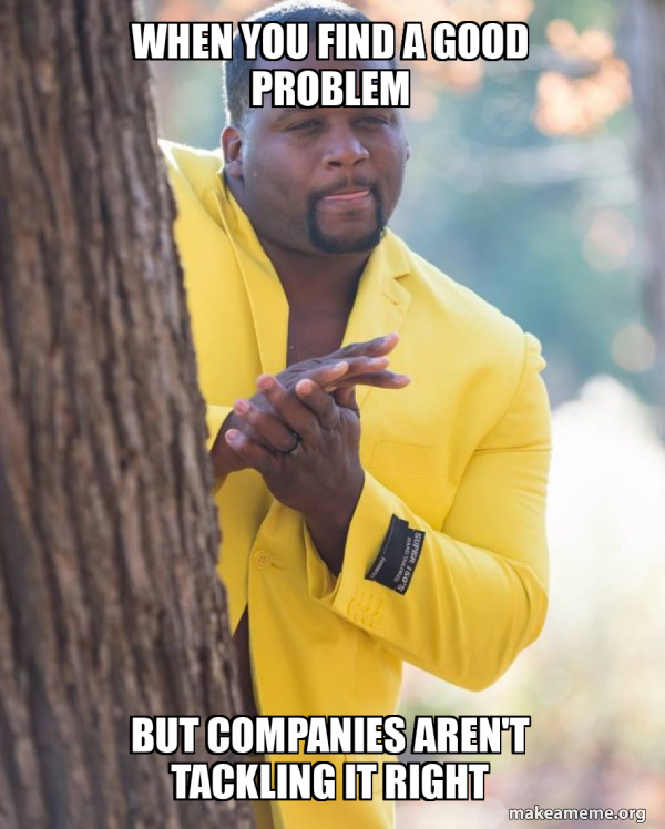 Anthony Adams in Yellow Suit Rubbing Hands meme