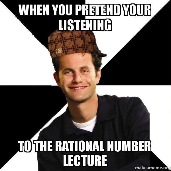 When you pretend your listening to the rational number lecture scumbag christian meme thecheapjerseys Gallery