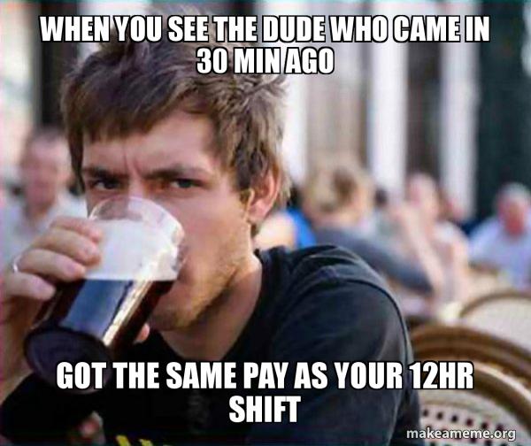 Lazy College Senior meme