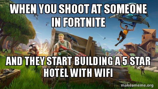 Image result for Fortnite building memes